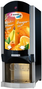 Brasserie milk or juice dispenser BIB format